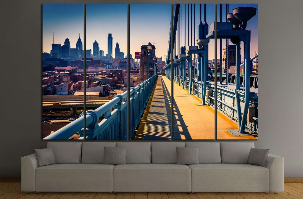 Philadelphia, Pennsylvania №888 Ready to Hang Canvas Print