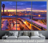 Phoenix airport №895 Ready to Hang Canvas Print