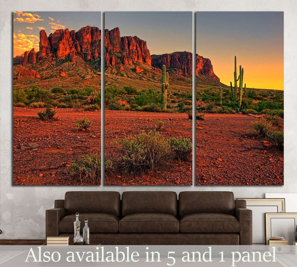 Phoenix, Arizona, USA №890 Ready to Hang Canvas Print