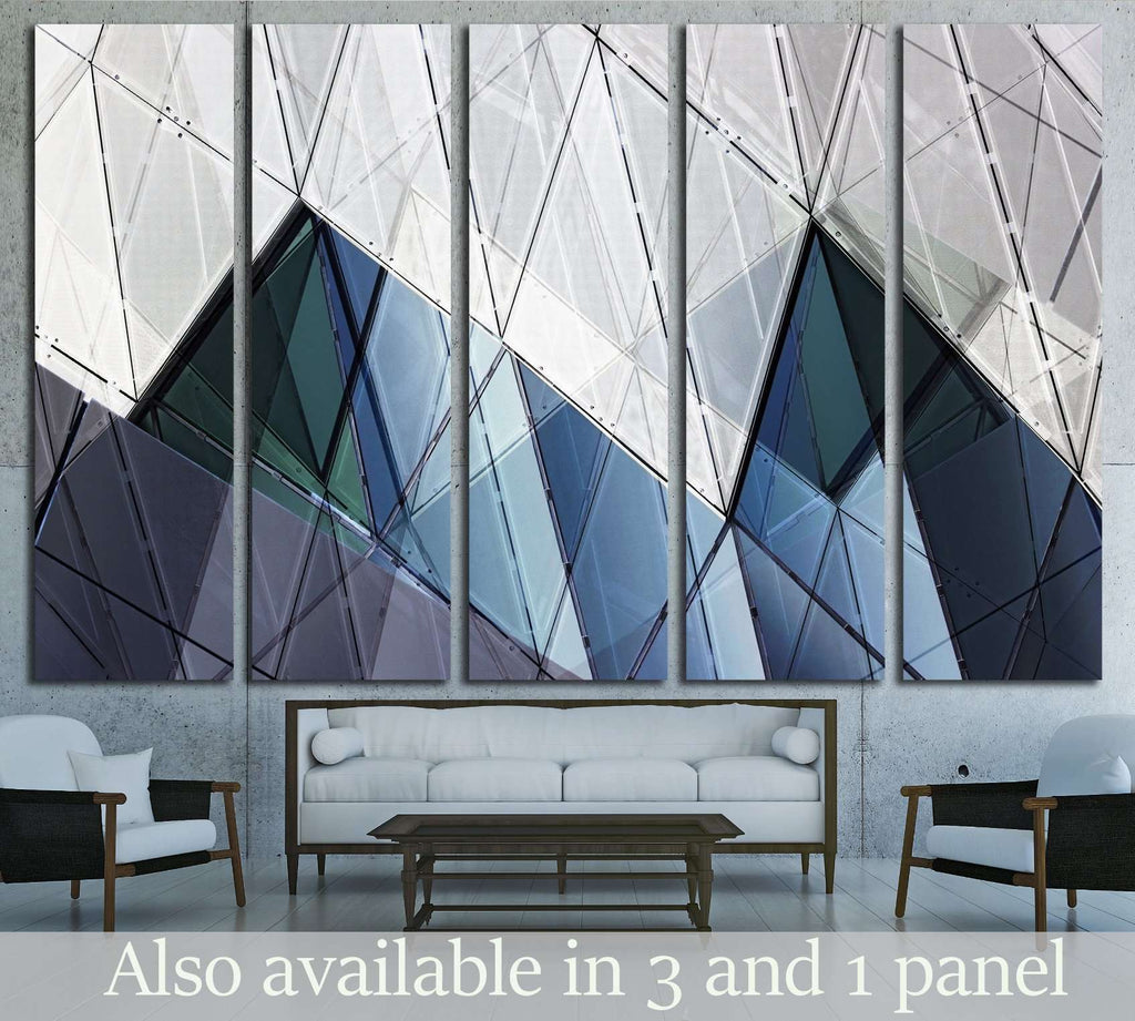 photo of contemporary wall №1603 Ready to Hang Canvas Print