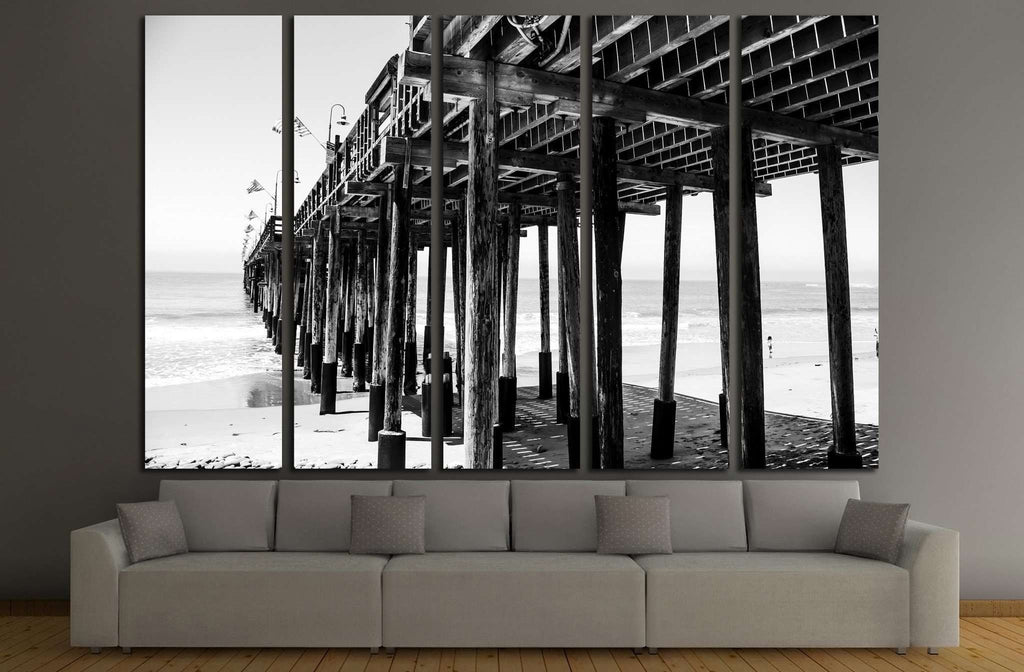 Pier №2104 Ready to Hang Canvas Print