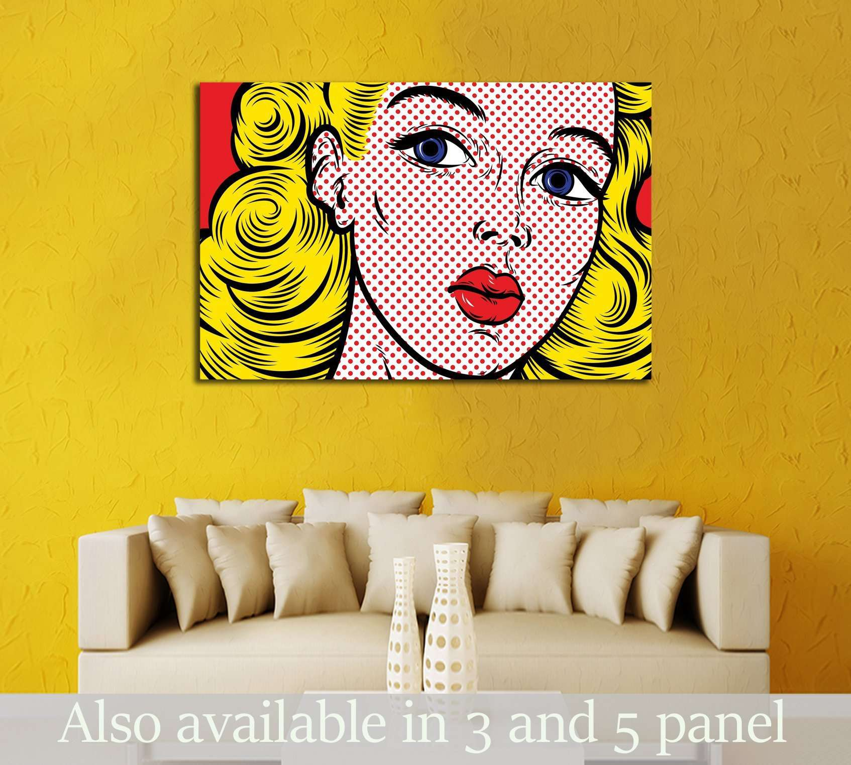 Pop ART at Zellart Canvas Arts