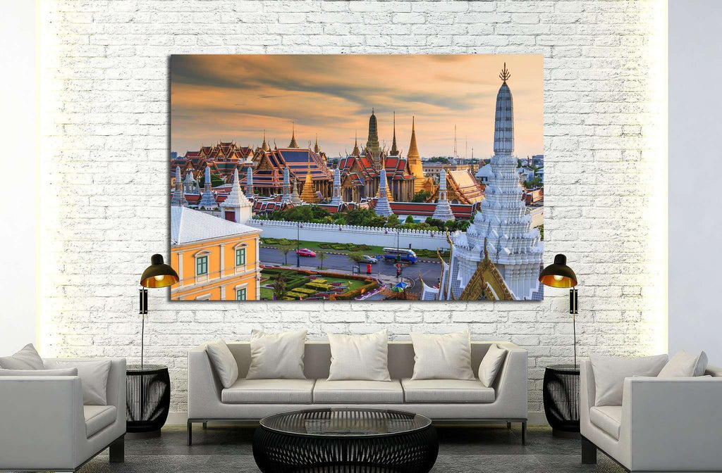 portland №808 Ready to Hang Canvas Print