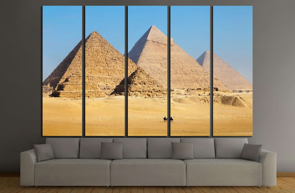 Pyramids in Egypt №855 Ready to Hang Canvas Print