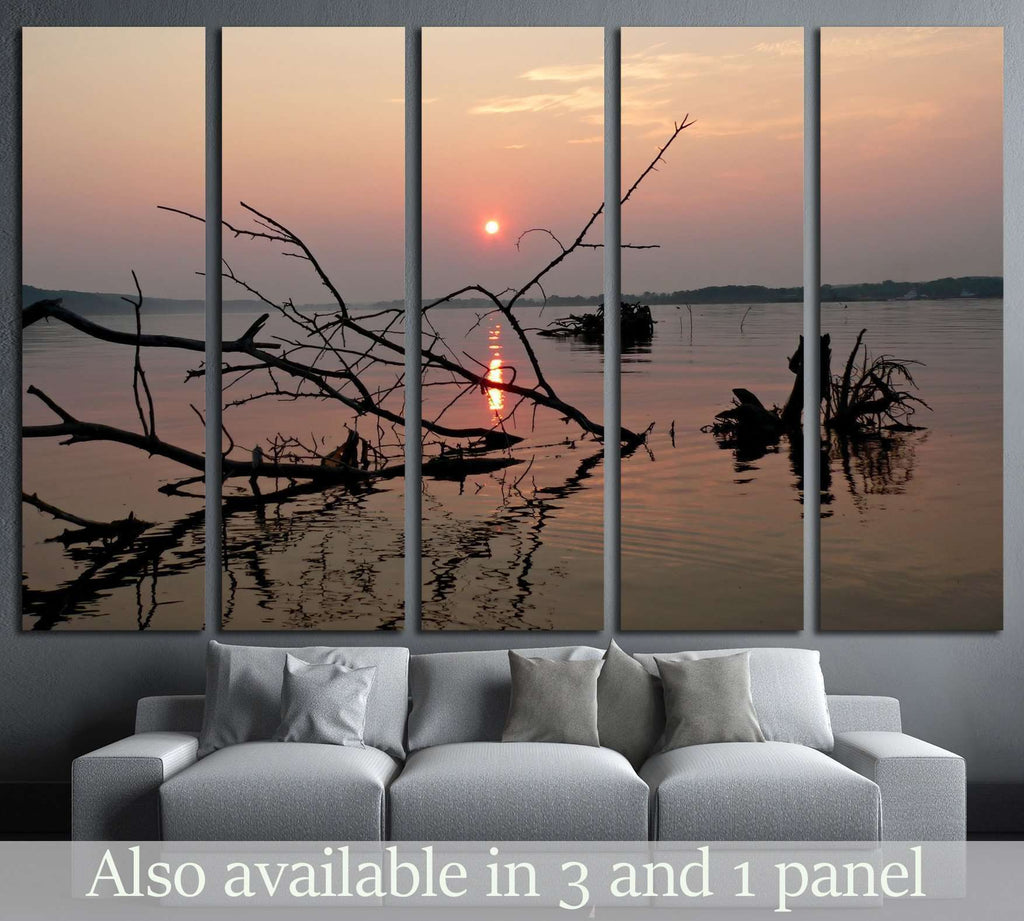 river №1956 Ready to Hang Canvas Print