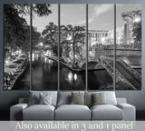 River Walk in San Antonio, Texas №996 Ready to Hang Canvas Print