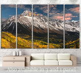 Rocky Mountain №26 Ready to Hang Canvas Print