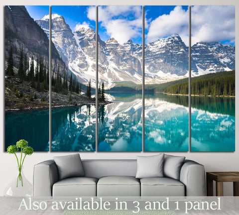 Rocky Mountains, Canada №633 Ready to Hang Canvas Print