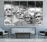 Rushmore Monument №3009 Ready to Hang Canvas Print