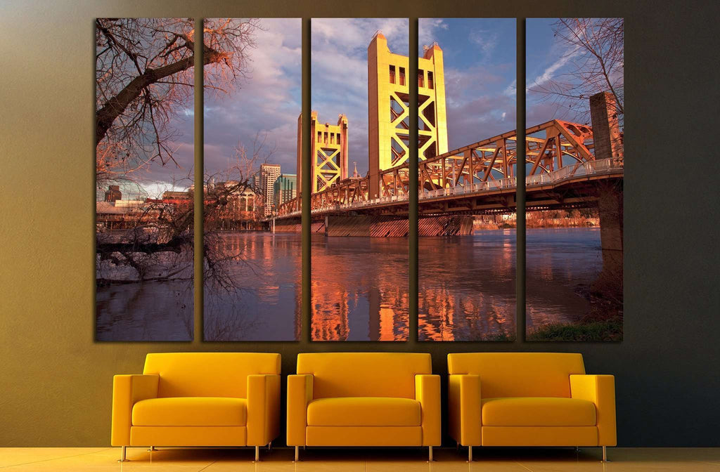 Sacramento is the capital city of California №1767 Ready to Hang Canvas Print