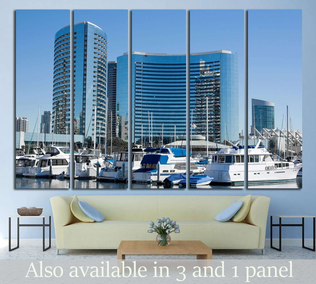 San Diego Bay №756 Ready to Hang Canvas Print