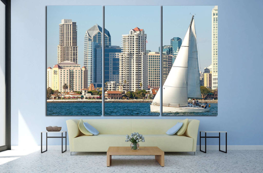 San Diego, California №783 Ready to Hang Canvas Print