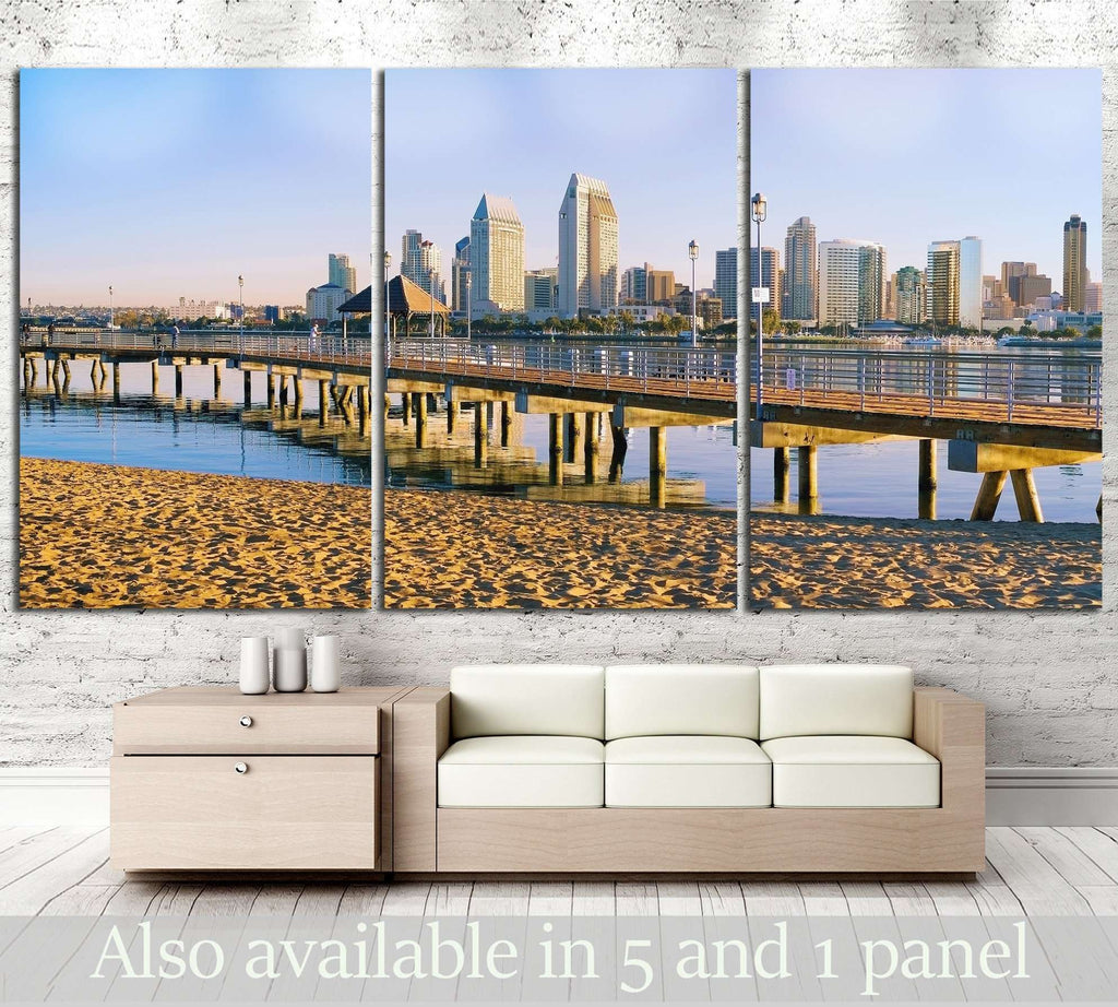 San Diego, California №788 Canvas Print