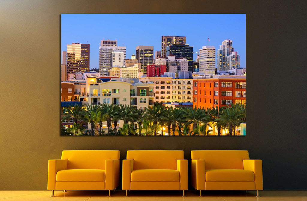San Diego, California, USA №1029 Ready to Hang Canvas Print