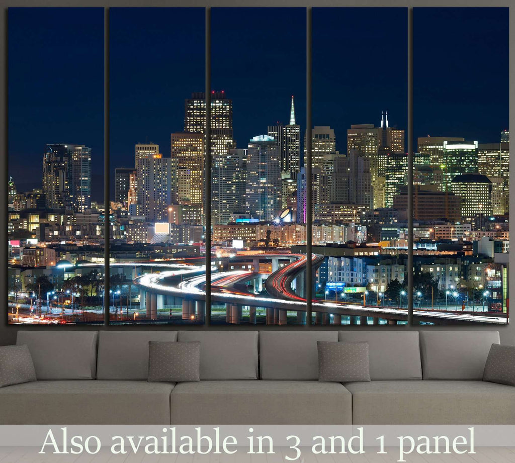 San Francisco skyline №1037 Ready to Hang Canvas Print