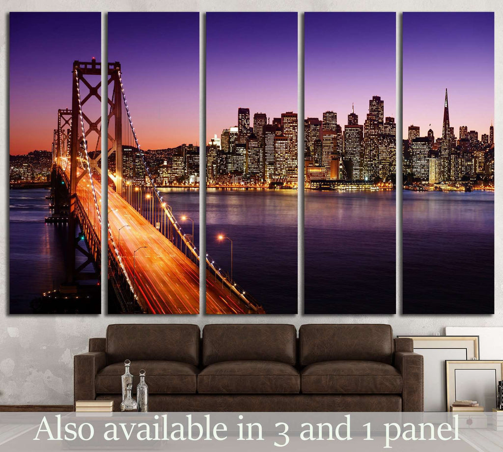 San Francisco skyline №578 Ready to Hang Canvas Print