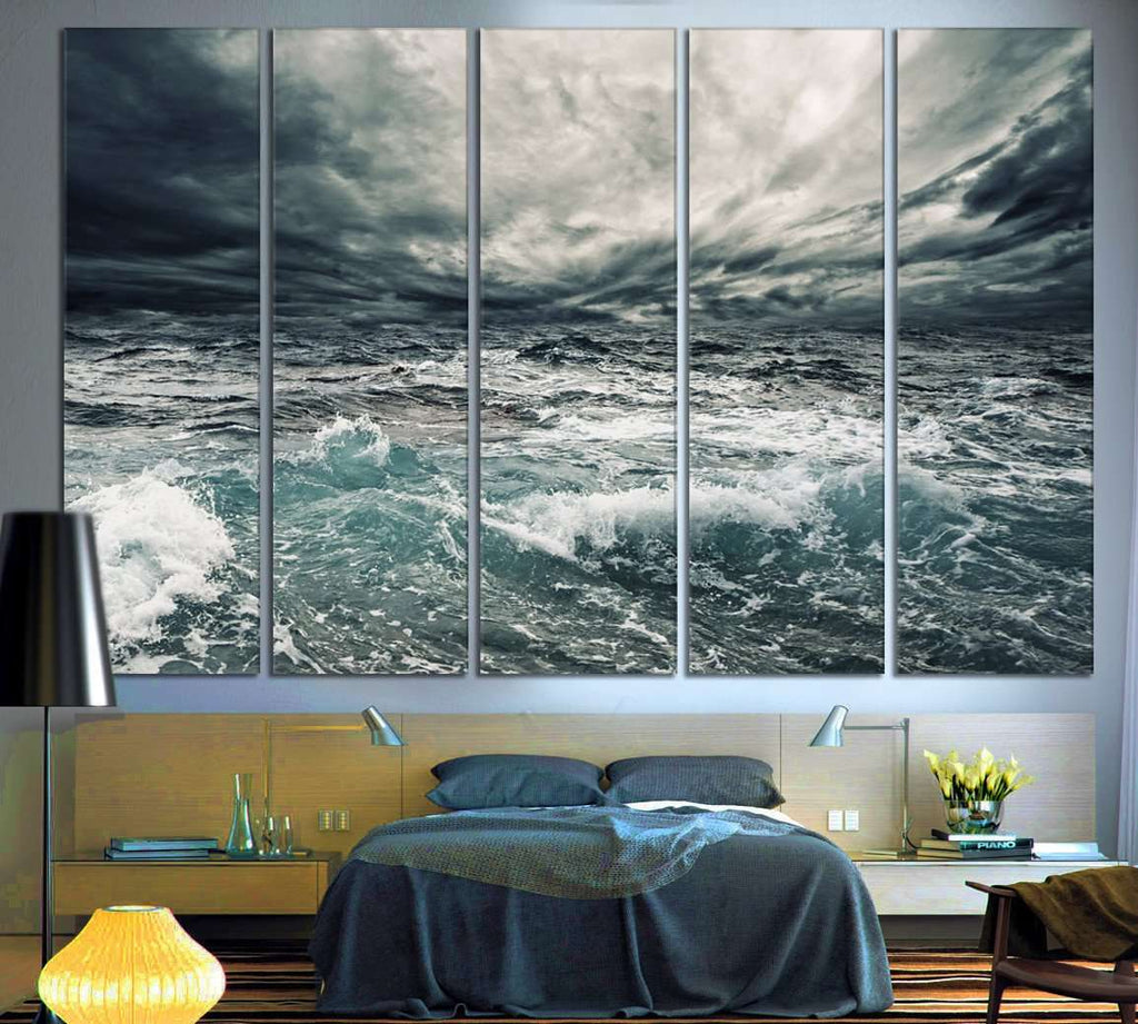 Seascape №756 Ready to Hang Canvas Print