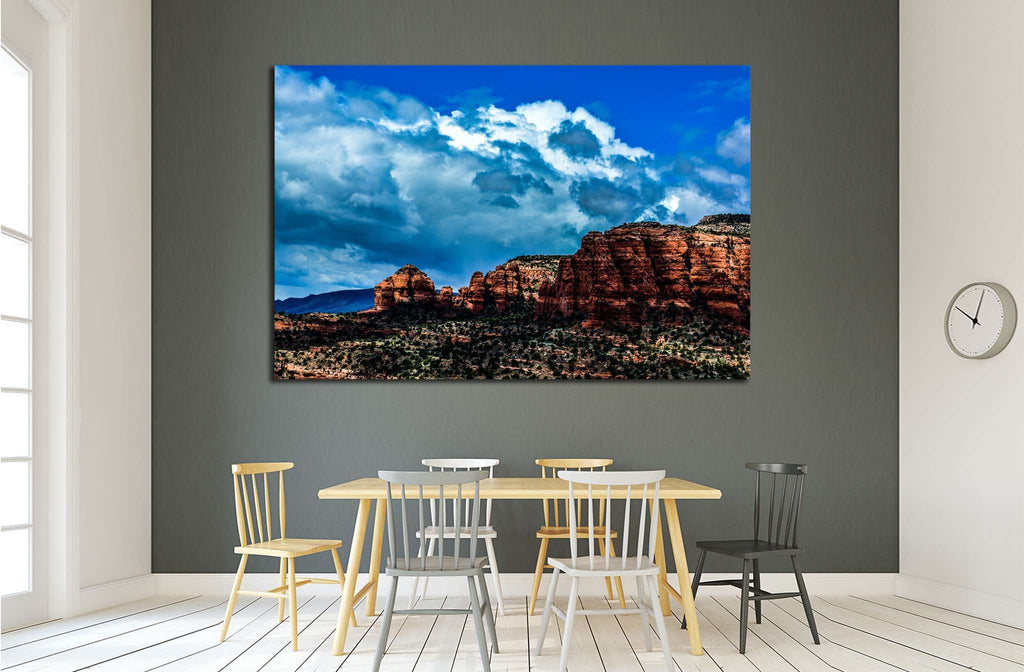 Sedona Red rocks Arizona №1998 Ready to Hang Canvas Print