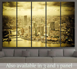 shanghai lujiazui financial center №591 Ready to Hang Canvas Print