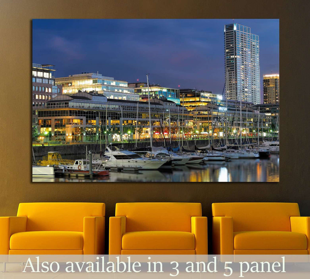 Skyline of Buenos Aires, Argentina №1262 Ready to Hang Canvas Print