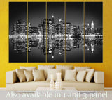 Skyscrapers of New York №118 Ready to Hang Canvas Print