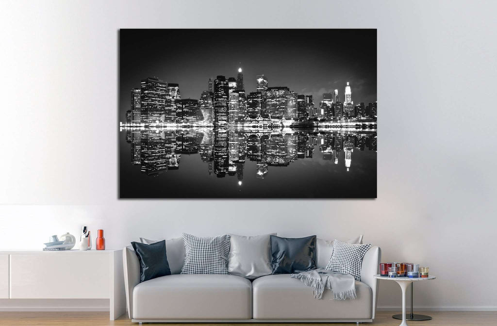 Skyscrapers of New York №741 Ready to Hang Canvas Print