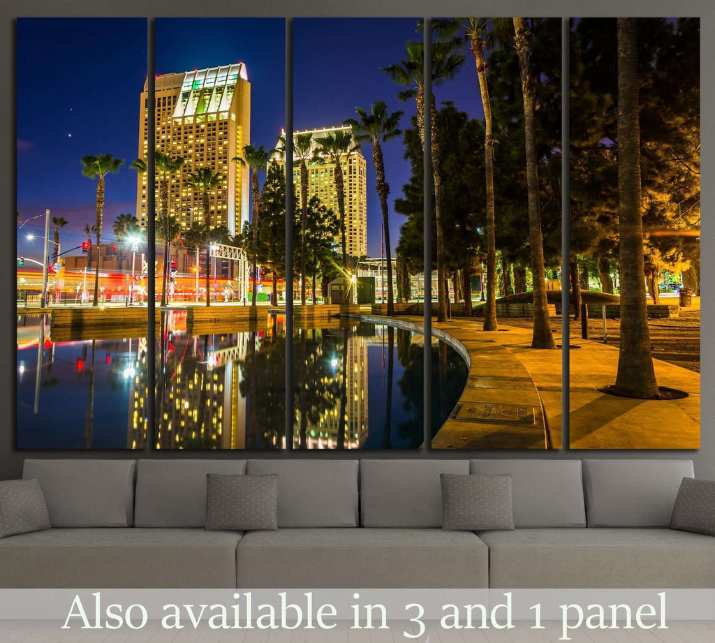 Skyscrapers San Diego, California №1019 Ready to Hang Canvas Print