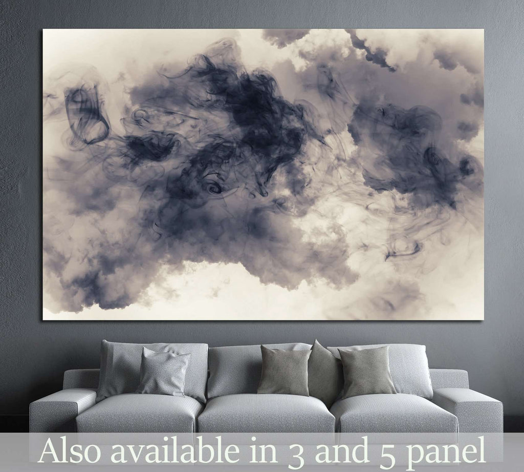 smoke and cloud №1049 Ready to Hang Canvas Print