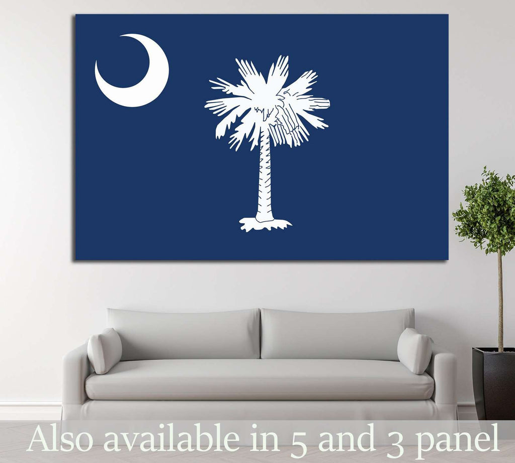 South Carolina №667 Ready to Hang Canvas Print