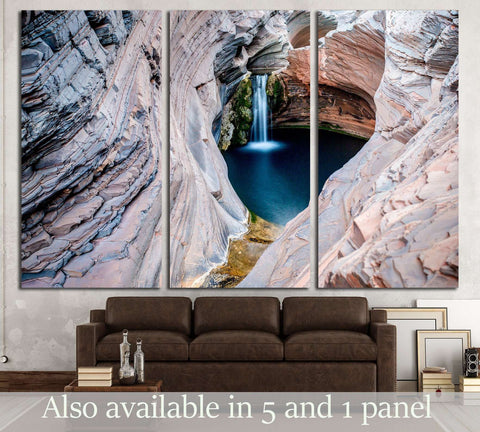 Spa Pool, Hamersley Gorge, Karijini National Park, Western Australia №3189 Ready to Hang Canvas Print
