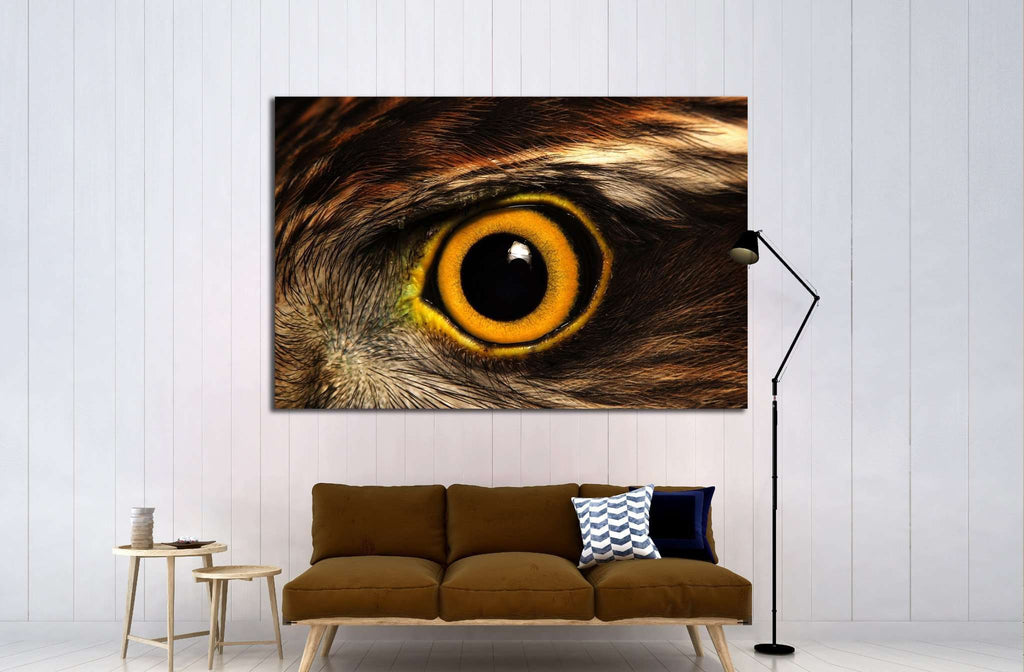 Sparrow-hawk eye №1862 Ready to Hang Canvas Print