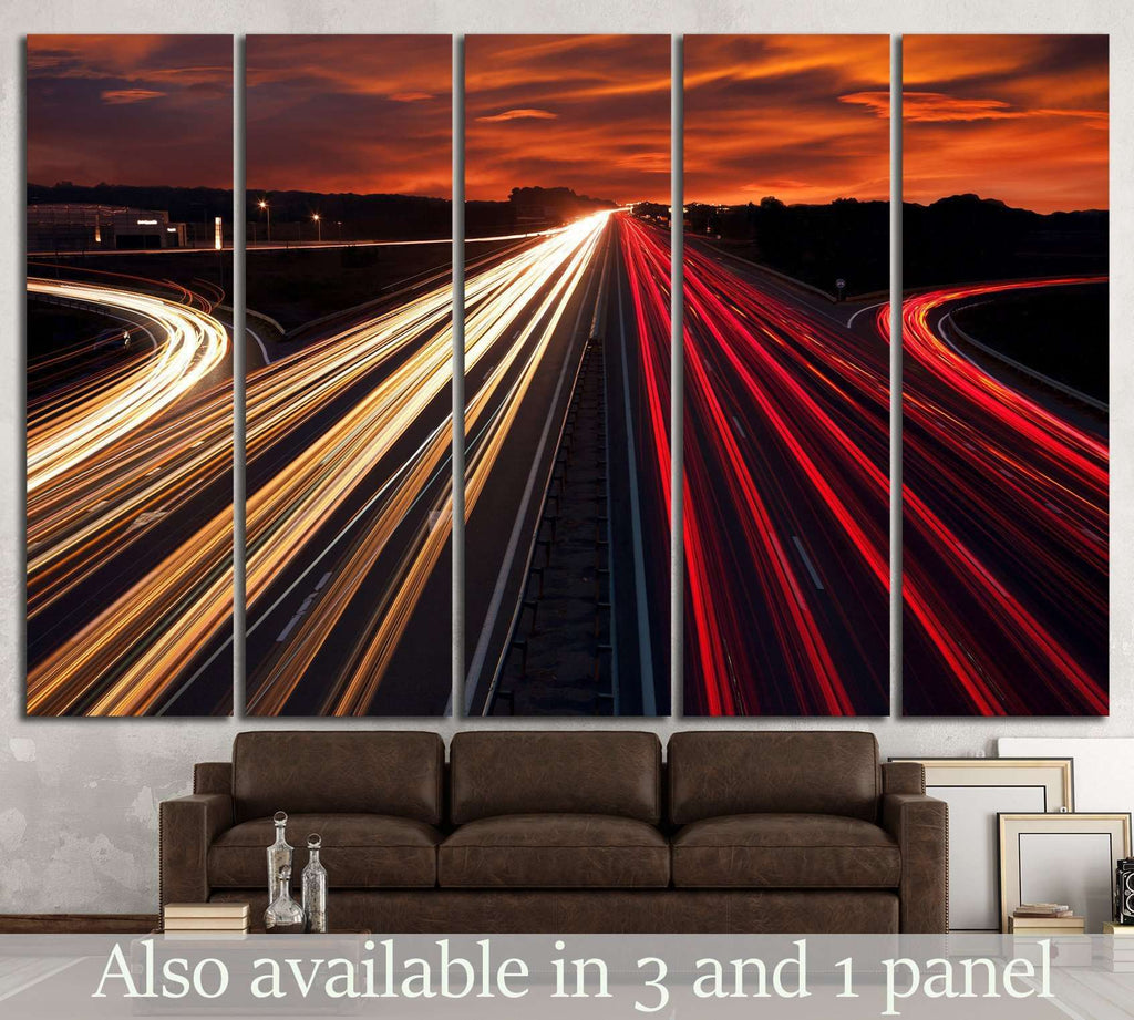 Speed Traffic №1045 Ready to Hang Canvas Print