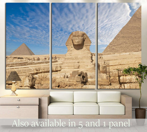 Sphinx Giza, Egypt №3170 Ready to Hang Canvas Print