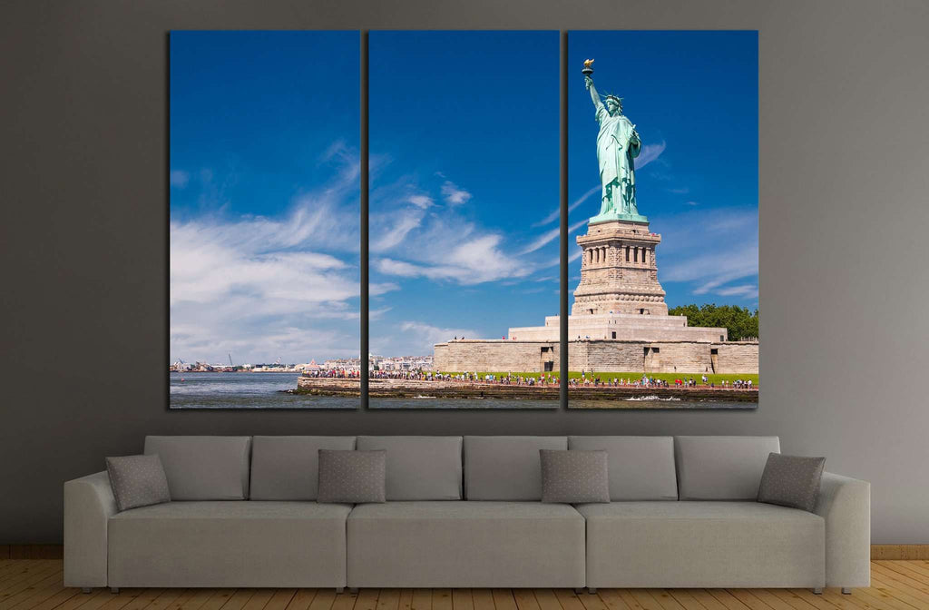 Statue of liberty №1205 Ready to Hang Canvas Print