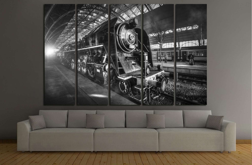 Steam Locomotive №234 Ready to Hang Canvas Print