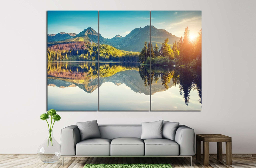 Strbske pleso, Slovakia, №611 Ready to Hang Canvas Print