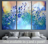 Summer flowers meadow №28 Ready to Hang Canvas Print