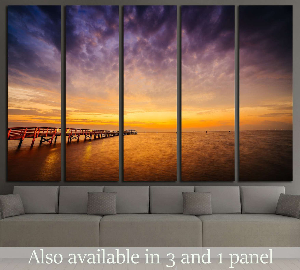 Sunrise, Safety Harbor, Florida №1903 Ready to Hang Canvas Print