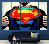 Superman №2003 Ready to Hang Canvas Print