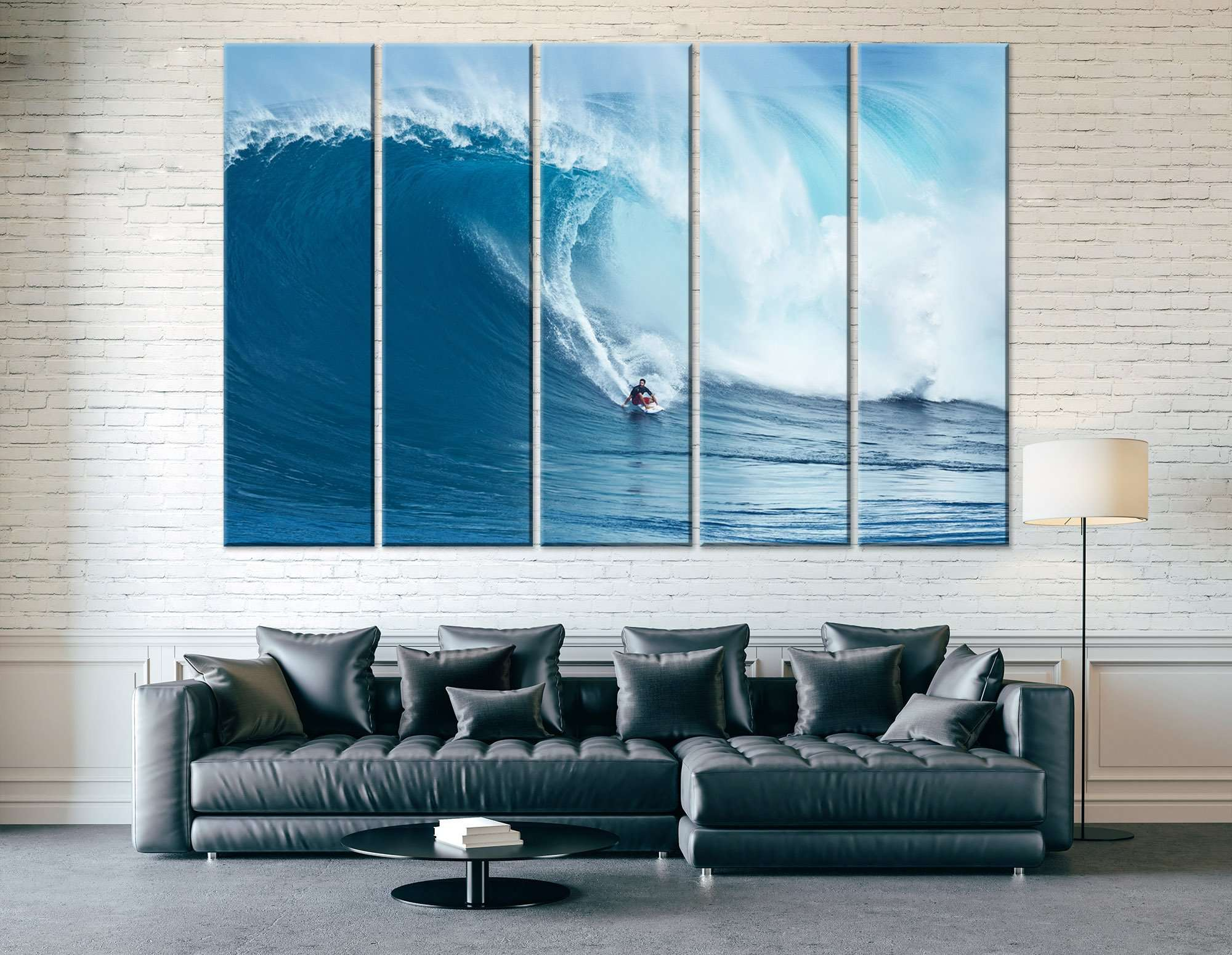 Surfing the Wave - Canvas Print