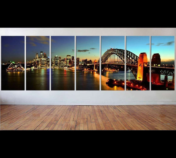 Sydney Harbour Extra Large Canvas Art №49 Ready to Hang Canvas Print