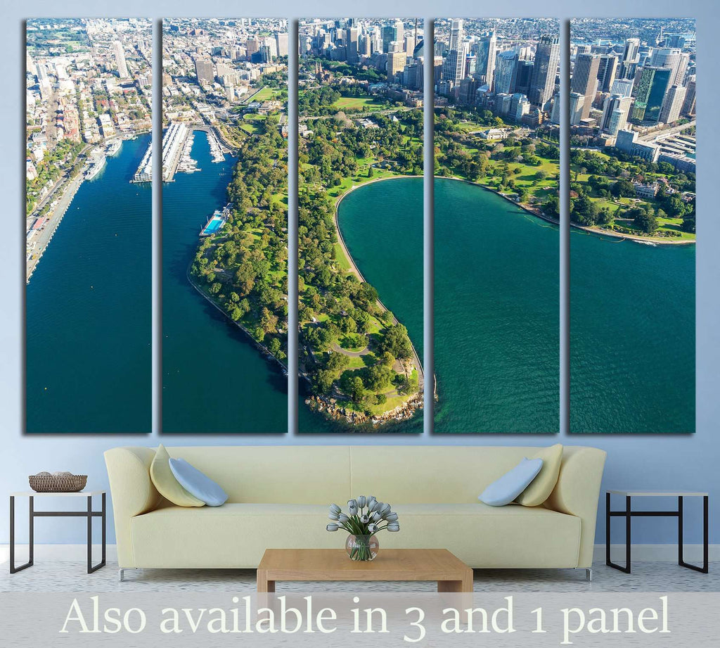 Sydney Royal Botanic Gardens №1537 Ready to Hang Canvas Print