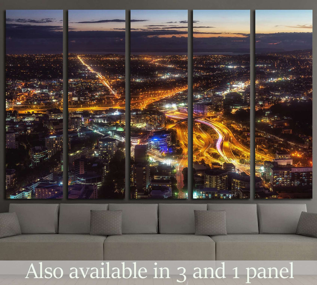 Taken in Auckland, New Zealand №1720 Ready to Hang Canvas Print