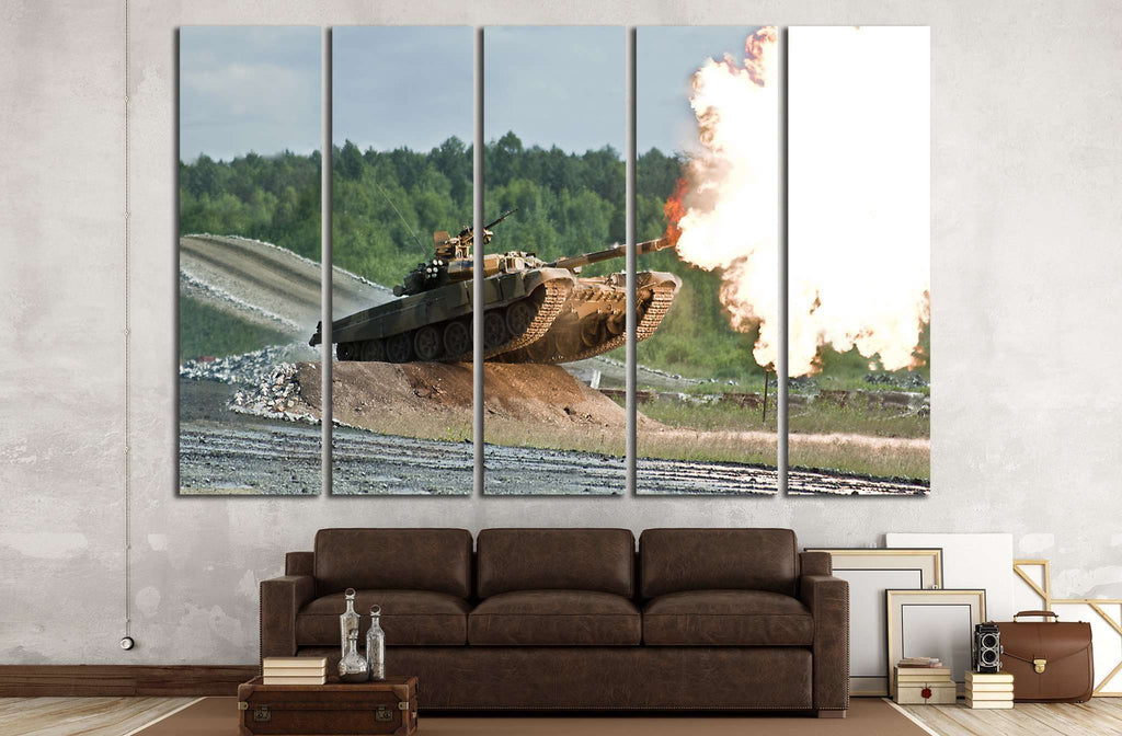 Tank Wall Decor №228 Ready to Hang Canvas Print
