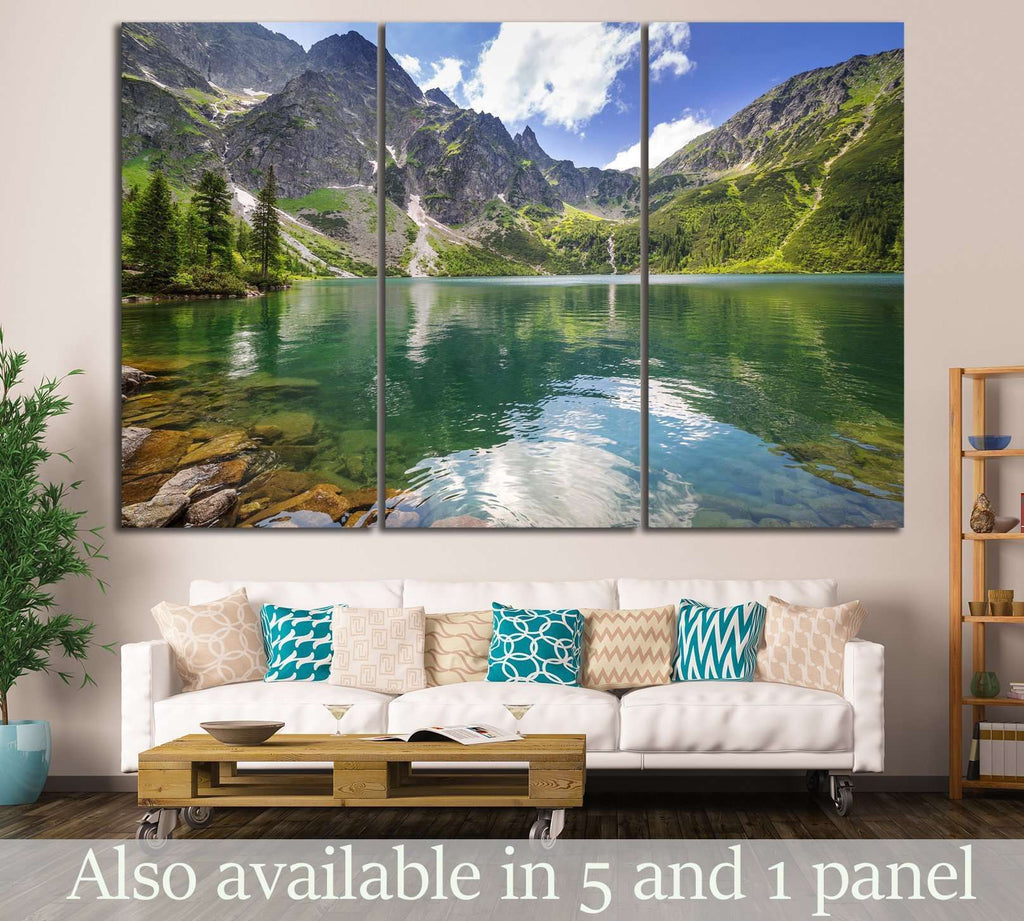 Tatra mountains, Poland №610 Ready to Hang Canvas Print