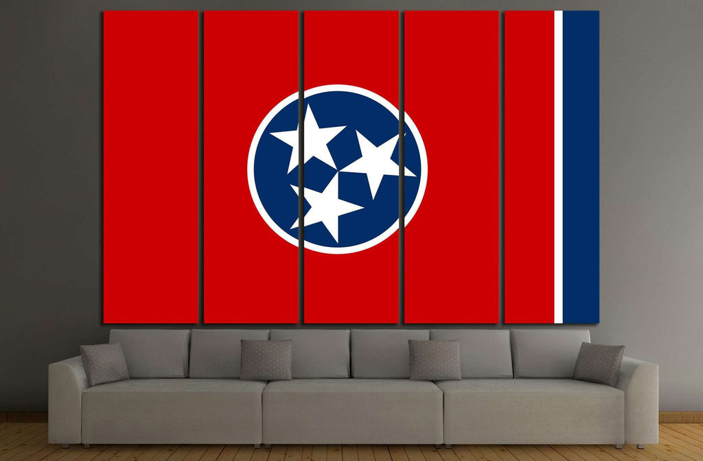tennessee Flag №690 Ready to Hang Canvas Print
