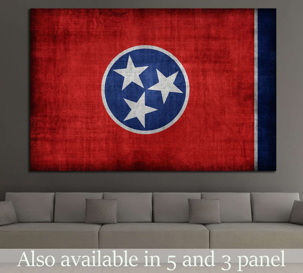 Tennessee flag  №692 Canvas Print