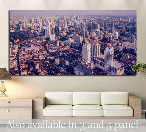 Bangkok Cityscapes & Skylines Wall Art