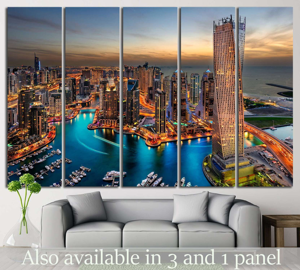 The beauty of marina №588 Ready to Hang Canvas Print