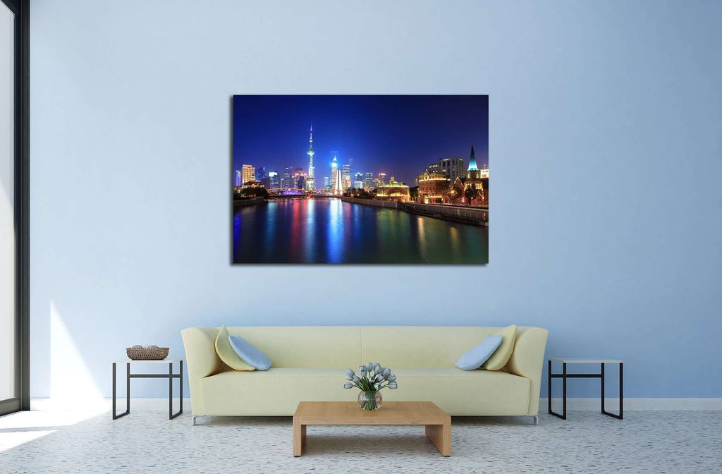 the beauty of shanghai №589 Ready to Hang Canvas Print